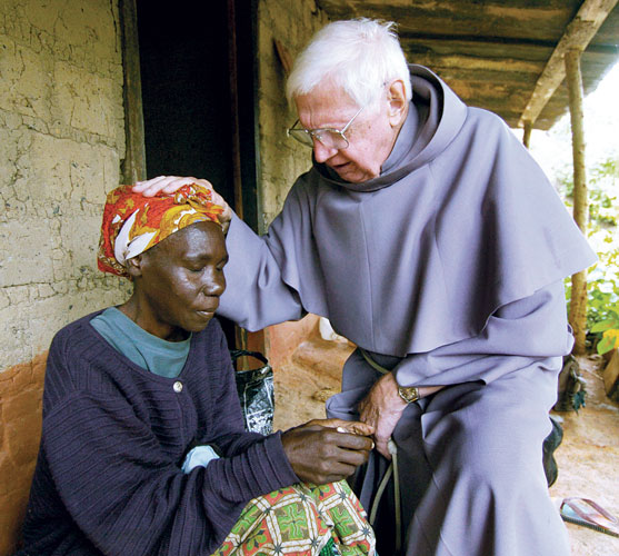 In addition to meeting material needs, our Catholic ministry partners in Zambia provide vital spiritual support.
