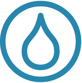 Clean water projects icon