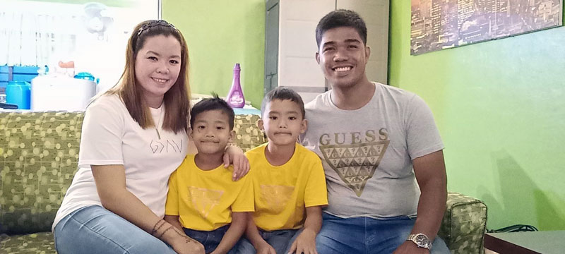 Emman and his family became involved in Couples for Christ, transforming their family and spiritual life. Your help will provide families like his with a fresh start through safe shelter and spiritual transformation