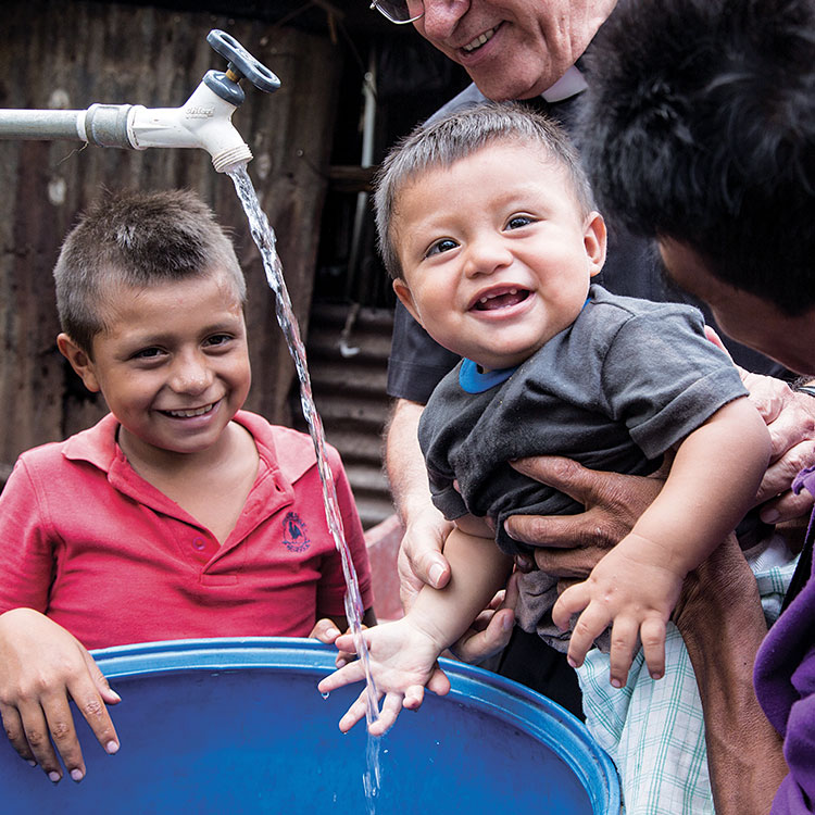 Cross Catholic Outreach has supported water projects in the diocese since 2015.