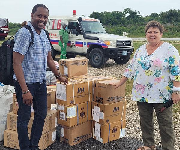 Diocese of Jeremie receives medicine