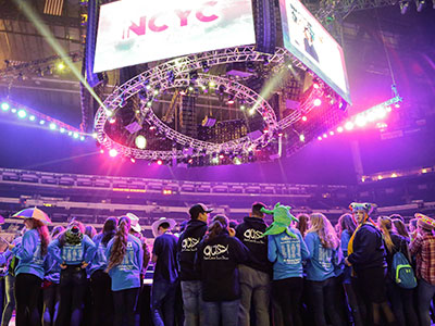 On Thursday, November 18, 2021, Cross Catholic Outreach is teaming up with NCYC to pack 75,000 meals for poor children and families around the world.